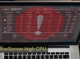 WindowServer high CPU usage Mac